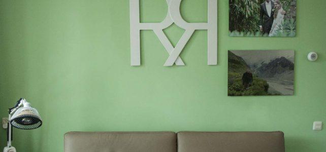 Letters in het interieur