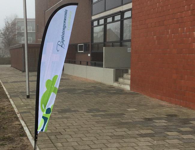 """Flag """"Gemeente Leiderdorp"""""""